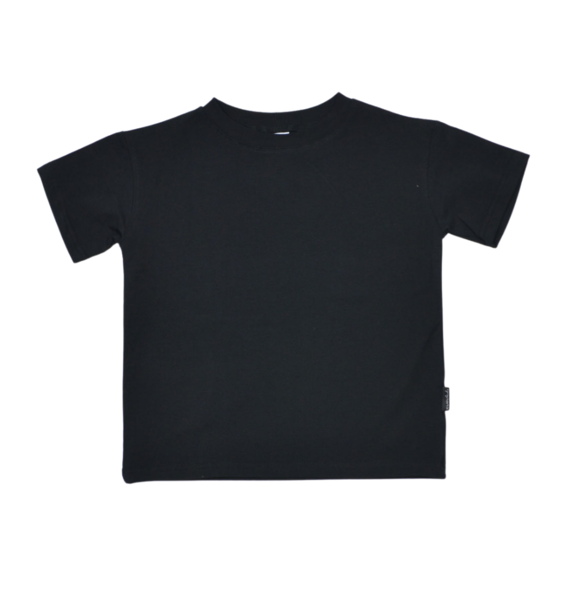 No Labels Kidswear OVERSIZED T-SHIRT ZWART