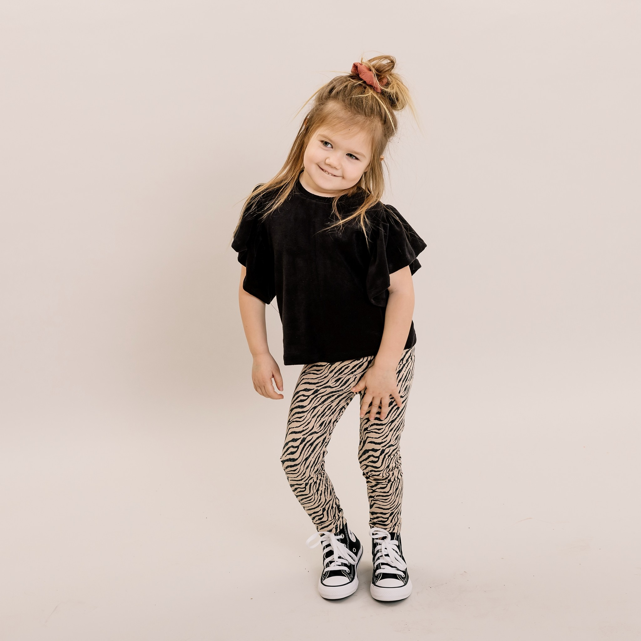 No Labels Kidswear SHIRT FOR GIRLS   WIDE SLEEVED TOP   GIRL CLOTHES