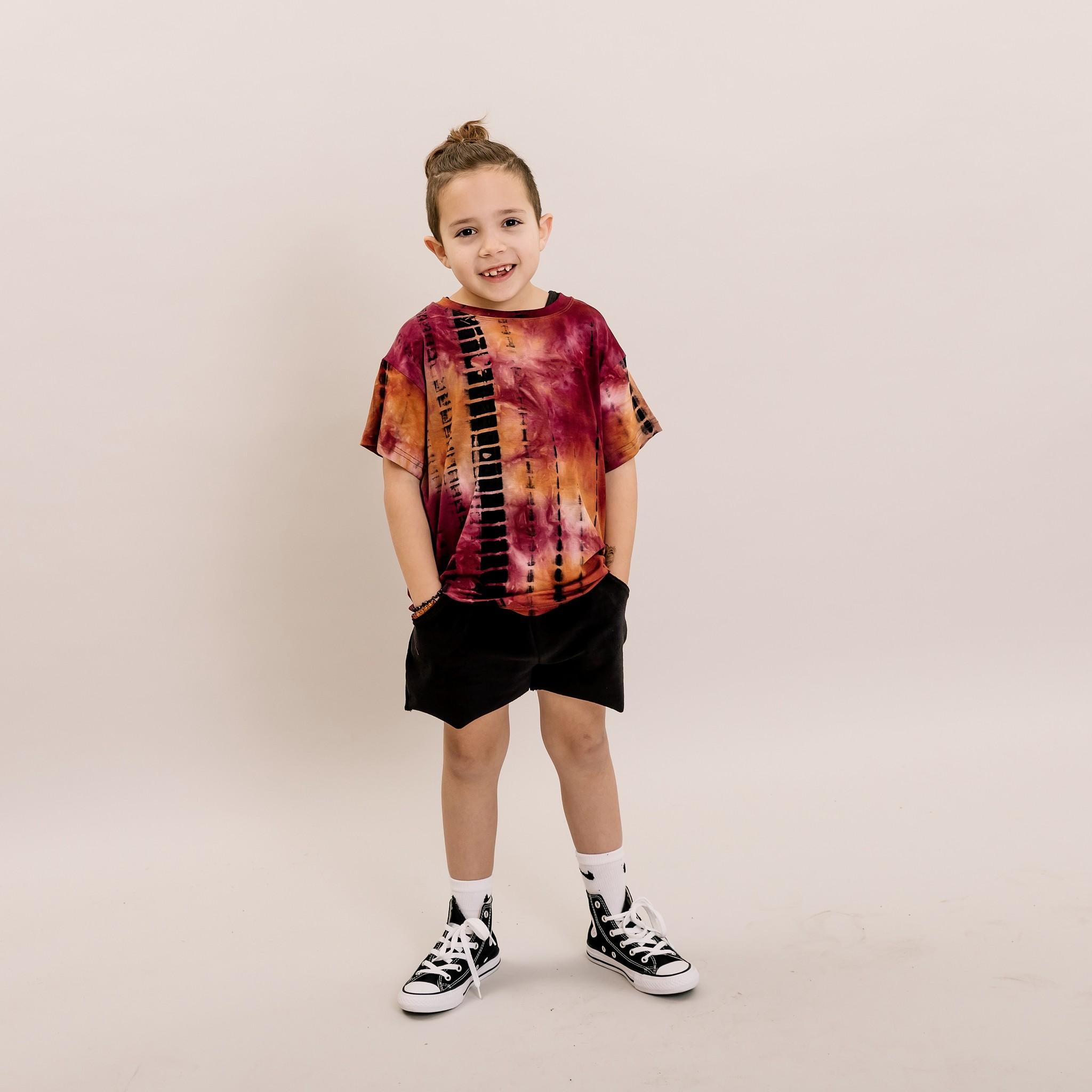No Labels Kidswear ZWARTE BERMUDA | KORTE BROEK ZWART | KINDERKLEDING