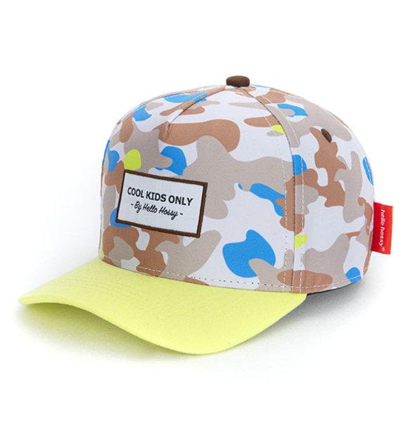Hello Hossy CAP CAMOUFLAGE