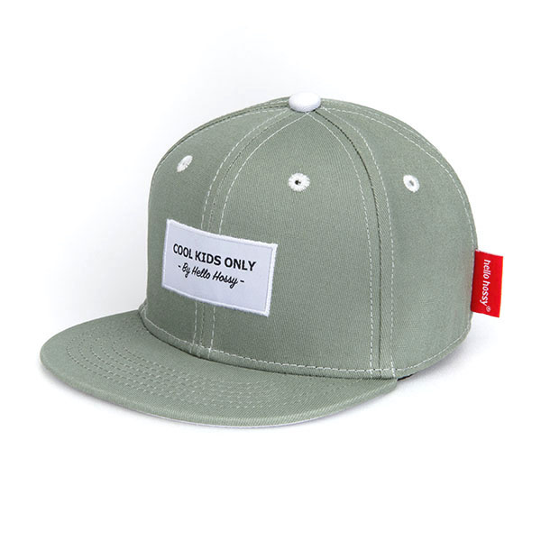 Hello Hossy CHILDREN'S CAP   KHAKI GREEN CAP FOR KIDS   BABY CAP