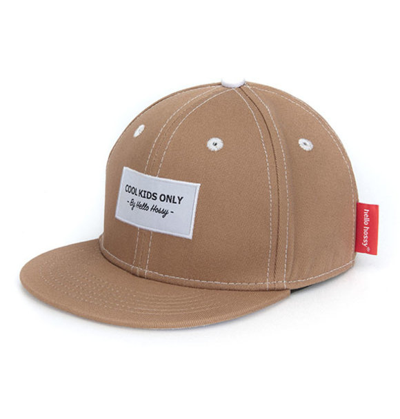 Hello Hossy CAP MINI BROWN