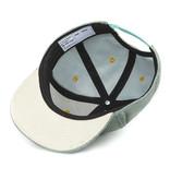 Hello Hossy  CHILDREN'S HAT | VELVET RIBBED CAP | LIGHT BLUE BABY CAP