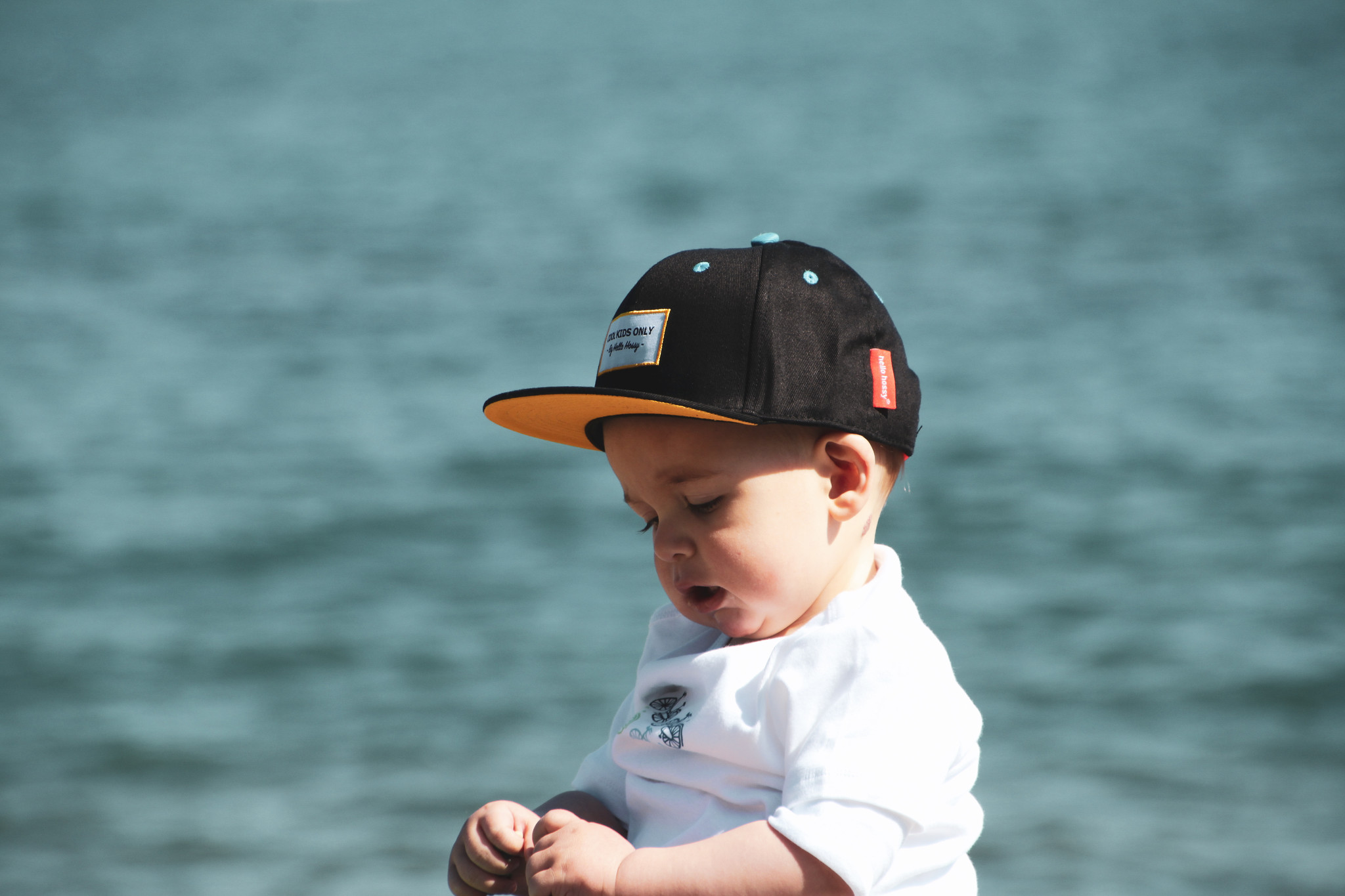 Hello Hossy CHILDREN'S PET | BLACK CAP FOR CHILDREN | COOL BABY CAP