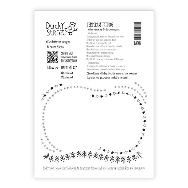 Ducky Street COLORFUL TATOOS | CHILD TATTOO | TEMPORARY TATTOO