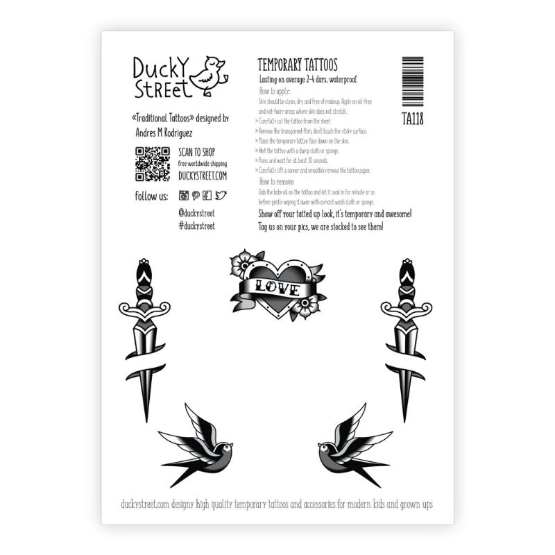 Ducky Street COOL TATTOOS | CHILD TATTOO | TEMPORARY TATTOO
