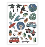 Ducky Street SURF TATTOOS | CHILD TATTOO | TEMPORARY TATTOO