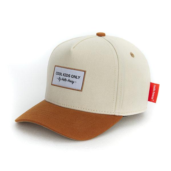 Hello Hossy CHILDREN'S CAP   BEIGE BROWN CAP FOR KIDS   BABY CAP