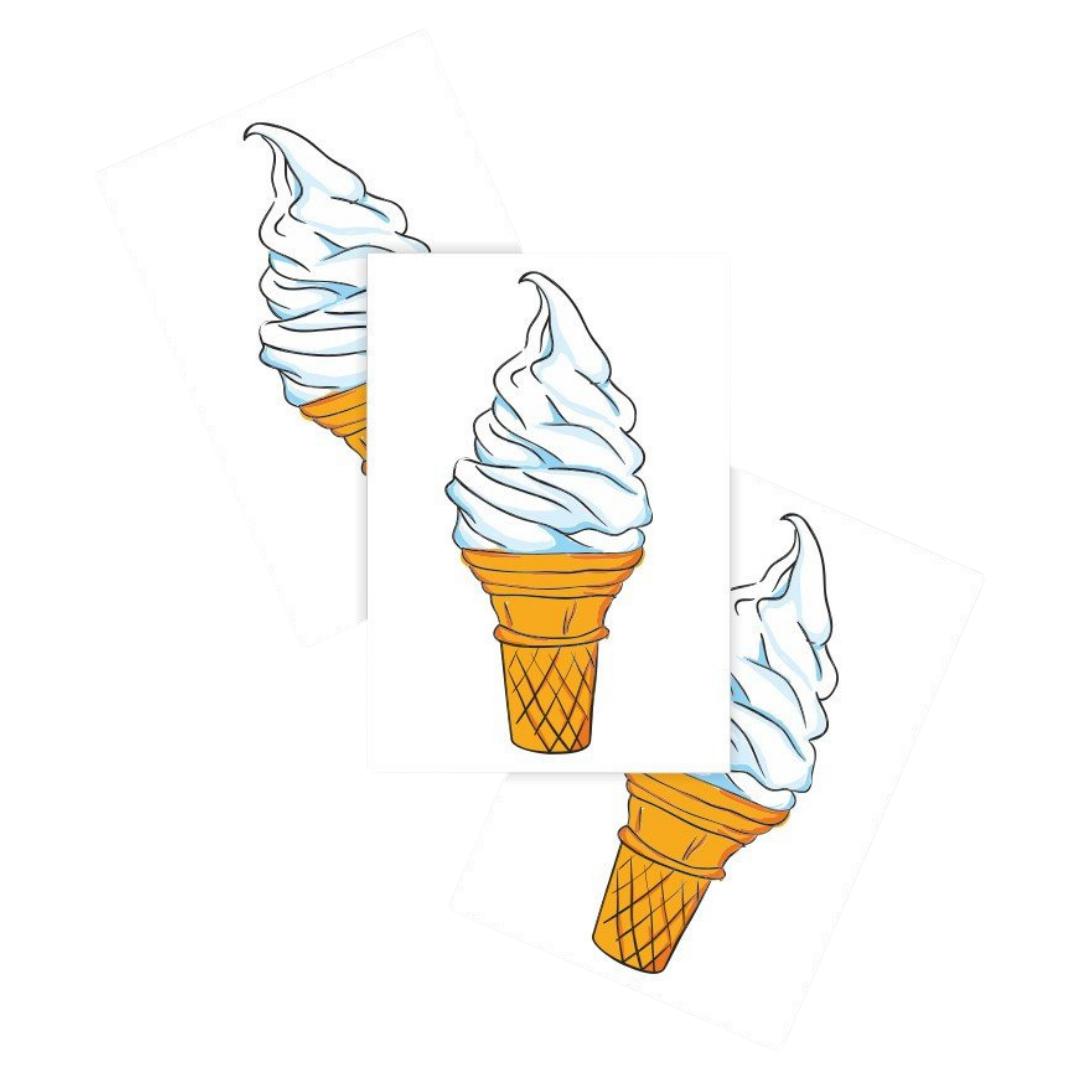 Ducky Street SOFT SERVE ICECREAM TATTOO | CHILDREN'S TATTOO