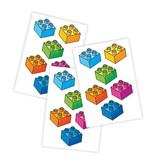 Ducky Street LEGO BLOKJES TATTOO   KINDER TATOEAGE   LEGO TATOO VOOR KINDEREN
