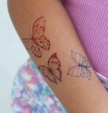 Ducky Street  BUTTERFLY TATTOO | CHILDREN'S TATTOO | TATTOO FOR CHILDREN