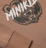 Minikid CARAMEL BRUINE HOODIE | SWEATER MET CAPUCHON | STOERE JONGENSKLEDING