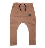 Minikid BROWN JOGGER   CLASSIC TROUSERS MINIKID   CARAMEL BROWN PANTS
