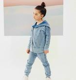 Minikid ACID BLUE DENIM JOGGER | COMFORTABLE DENIM PANTS | COOL KIDSWEAR