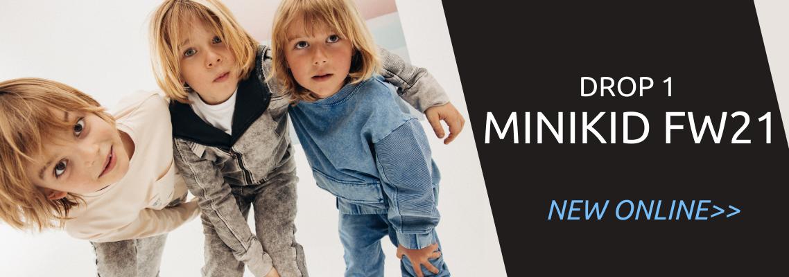 streetwear kinderkleding nieuwe collectie Minikid Nederland