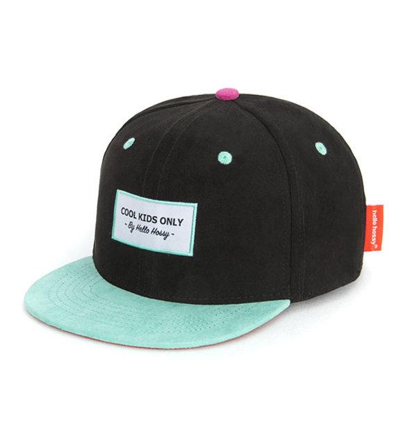 Hello Hossy CAP SUEDE BLACKY