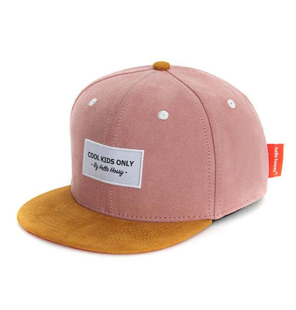 Hello Hossy CAP SUEDE OLD PINK