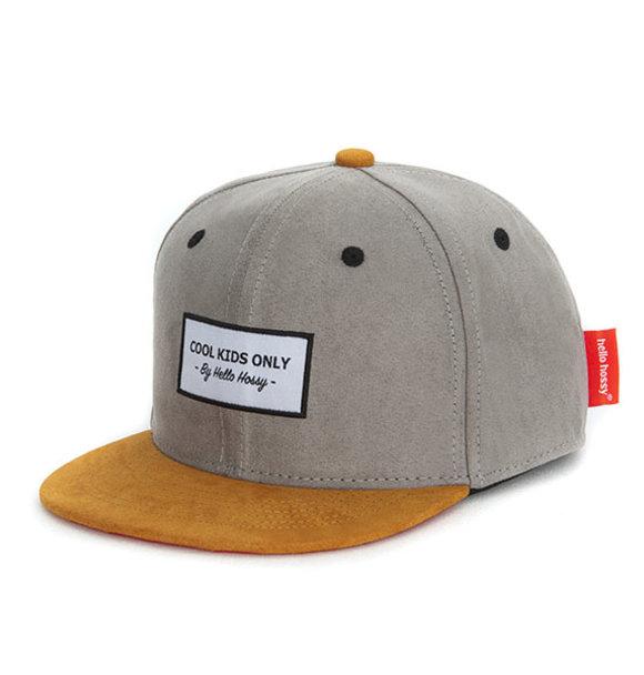Hello Hossy CAP SUEDE STREET GREY