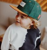 Hello Hossy CHILDREN'S CAP   SUEDE FABRIC CAP   ADJUSTABLE  BABY CAP