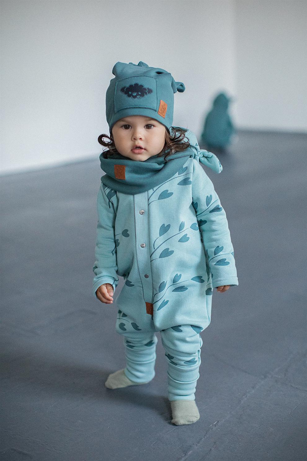 Zezuzulla BABYKLEDING MET OORTJES | JUMPSUIT MET CAPUCHON | WARME BABY ROMPER
