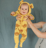 Zezuzulla BABYKLEDING MET OORTJES | JUMPSUIT MET CAPUCHON | WARME BABY PAKJE
