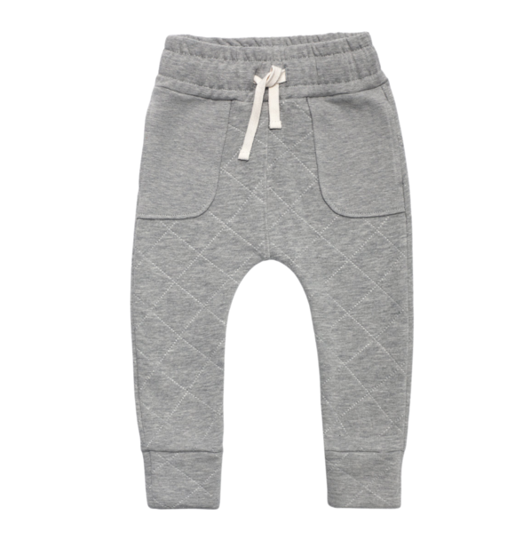 Minikid JOGGER QUILTED GREY