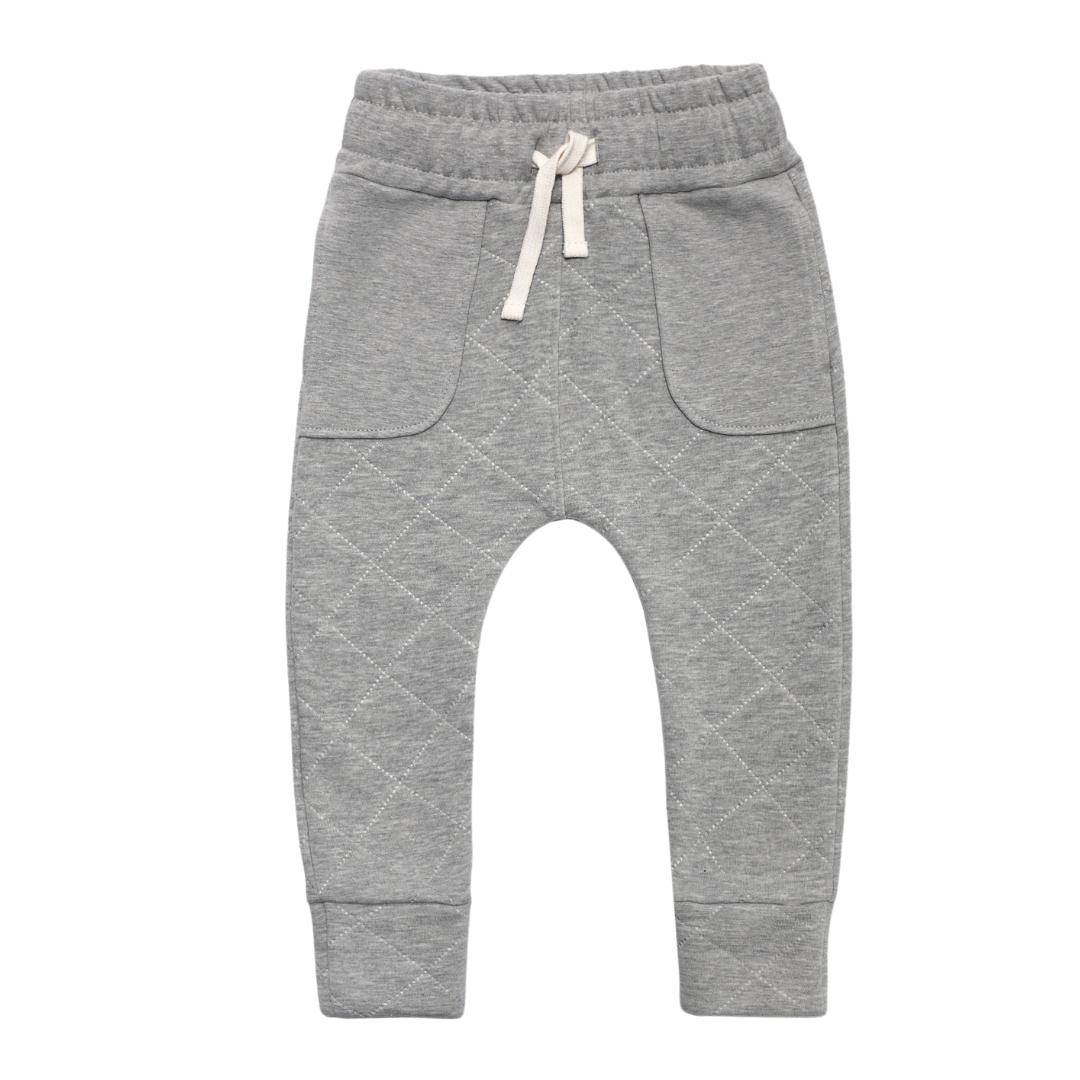 Minikid WARM GREY JOGGING PANTS   COMFORTABLE PANTS   CHILDREN'S CLOTHES