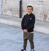 Kiddow BLACK OVERSIZED HOODIE   COOL SWEATER FOR CHILDREN WITH HOOD