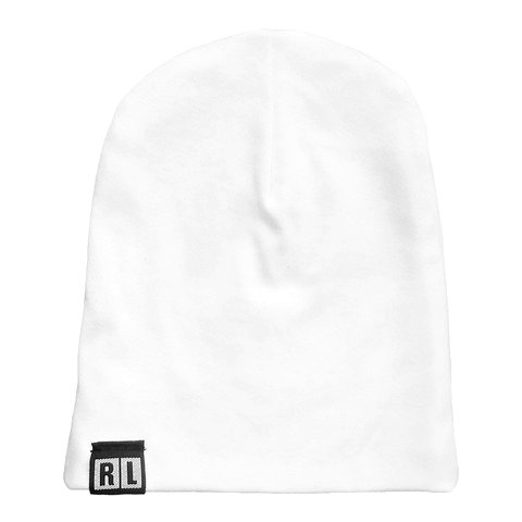 Ryder L SLOUCHY BEANIE WHITE
