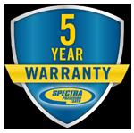 Spectra 5 jaar garantie logo