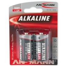 Ansmann C-Cell Alkaline Blister 2stk