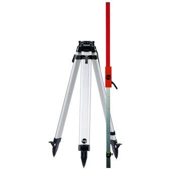 Universeel 160cm Standaard Statief + Laserbaak Snelspanklem Set