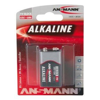 Ansmann 9V-Block Batterij of 6LR61 Batterij