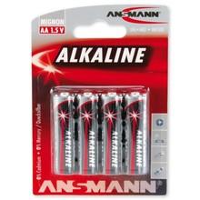 Ansmann AA Alkaline Blister 4stk