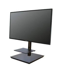 Maxi Planet Black Verrijdbare TV Standaard