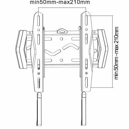 NewStar LED-W120 TV Beugel