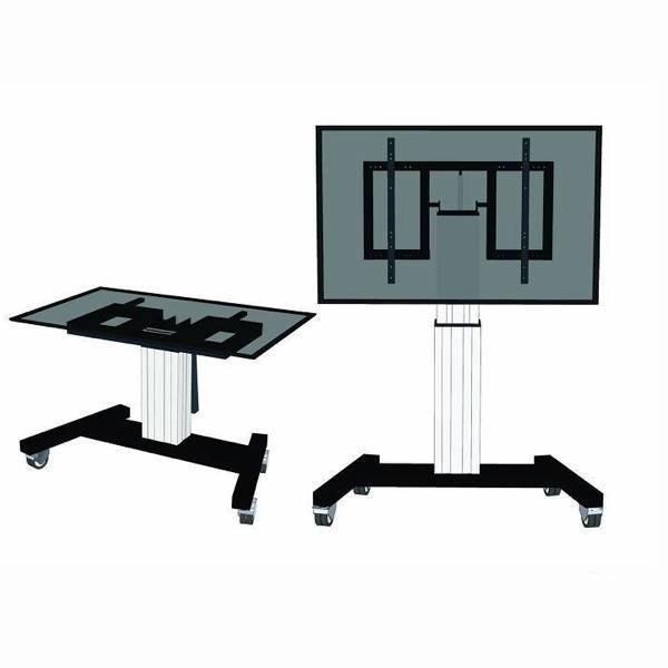 Neomounts M2500TSILVER Elektrische TV Standaard