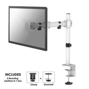 NeoMounts NM-D135WHITE Monitorbeugel