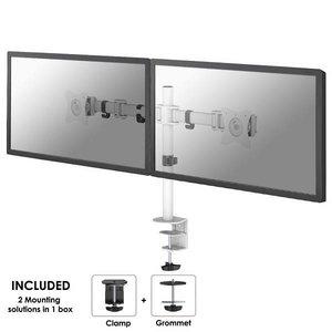 NeoMounts NM-D135DWHITE Monitorbeugel