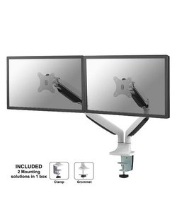 NM-D750DWHITE Monitorbeugel