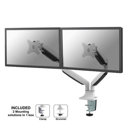 NeoMounts NM-D750DWHITE Monitorbeugel