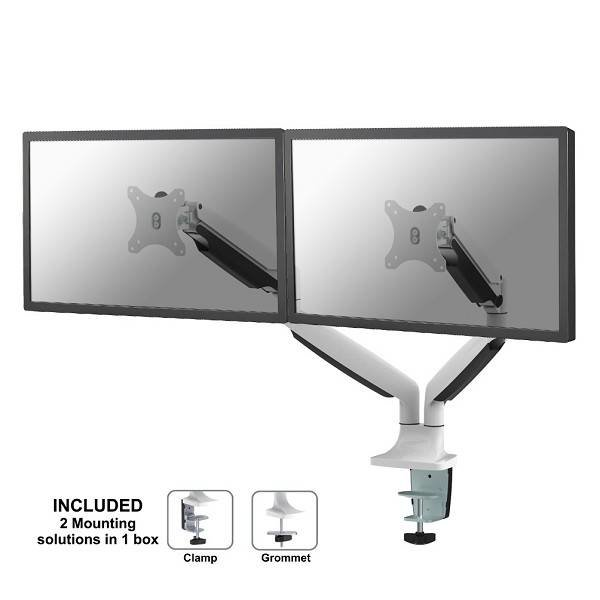 Neomounts by Newstar NM-D750DWHITE Monitorbeugel