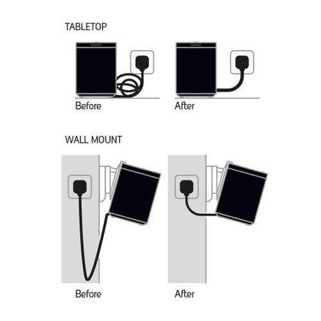 Flexson 35 cm kabel voor Sonos One/PLAY: 1 wit