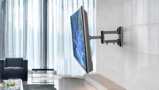 TV Beugels voor kleine, maar ook de grootste tv's