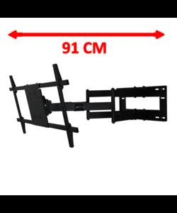 Reach XXL 91 cm Black TV Beugel