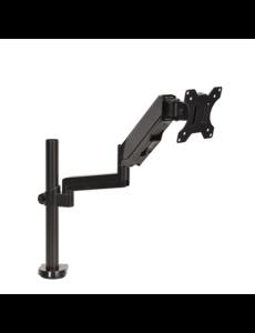 DQ Wall-Support Monitorbeugel zwart - met Gasveer