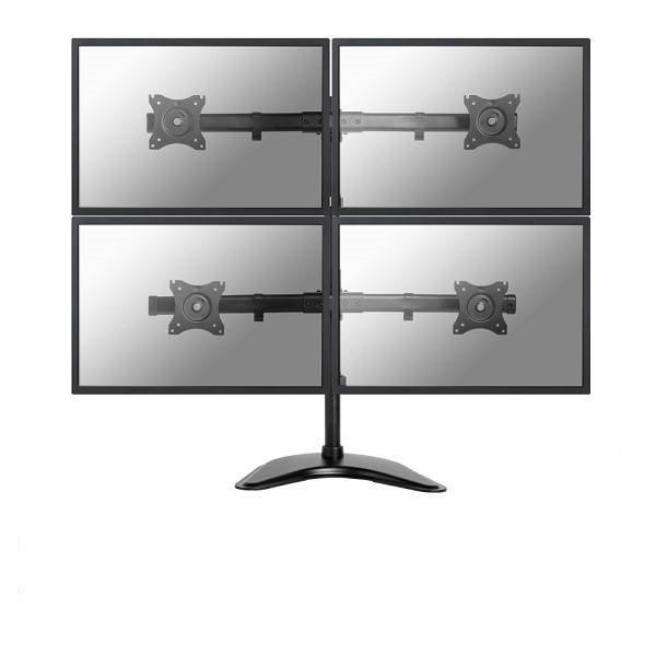 NeoMounts NM-D335D4BLACK Monitorbeugel