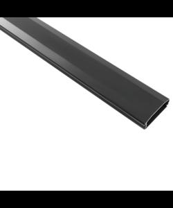 Aluminium kabelgoot 110 cm black