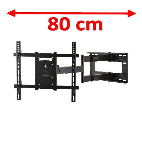 DQ Wall-Support Reach M 80 cm Black TV Beugel