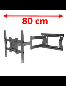 XTRarm Tantal Fixed 80 cm TV Beugel Draaibaar